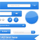 Modern Web 2.0 kit and elements for your interface
