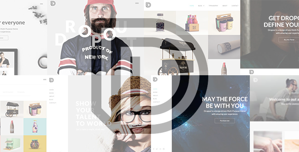 ThemeForest Dropout Agency Freelancer Portfolio Template 9814582