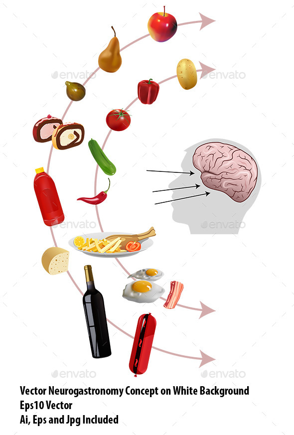 GraphicRiver Neurogastronomy 9845013