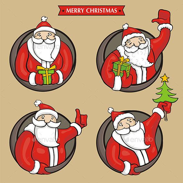 GraphicRiver Santa Claus 9845014