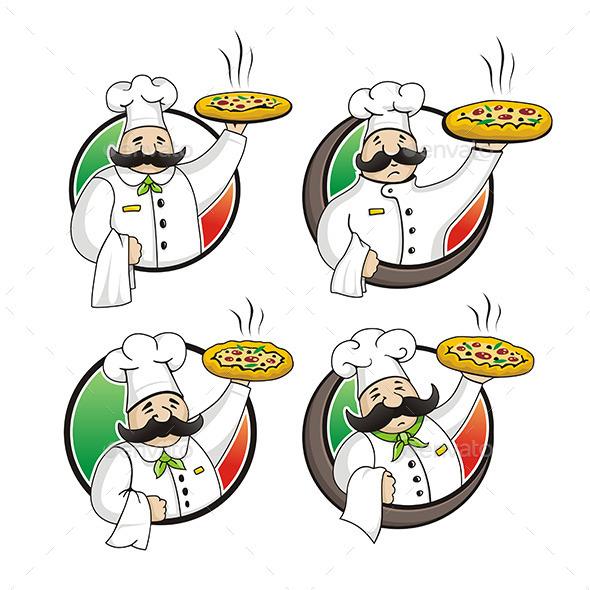 GraphicRiver Chef Pizza 9845023