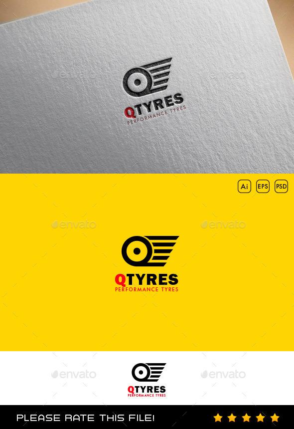 GraphicRiver Tyre Logo 9748079