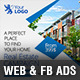 Real Estate Web & Facebook Banners - GraphicRiver Item for Sale