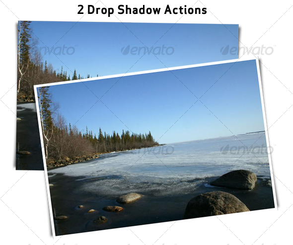 Drop Shadow Action - Utilities Actions