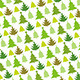 Christmas Tree Seamless Pattern - GraphicRiver Item for Sale