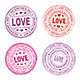 Valentine Day Seal - GraphicRiver Item for Sale