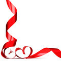 Red heart ribbon bow - PhotoDune Item for Sale