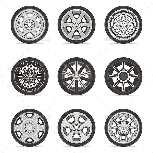 GraphicRiver Wheels 9845636