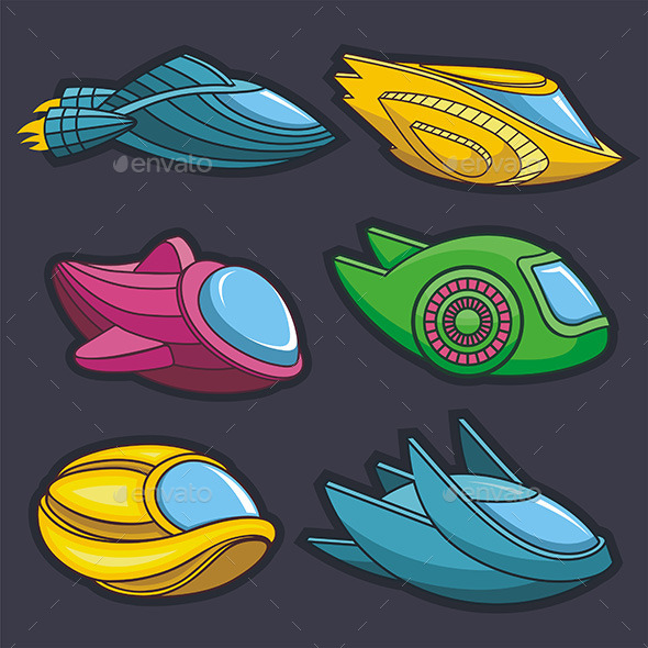 GraphicRiver Spacecraft 9845708