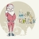 Merry Christmas Background with Santa - GraphicRiver Item for Sale