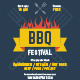 BBQ Festival Poster Template - GraphicRiver Item for Sale