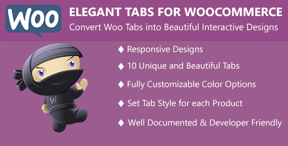 CodeCanyon Elegant Tabs for WooCommerce 9846605