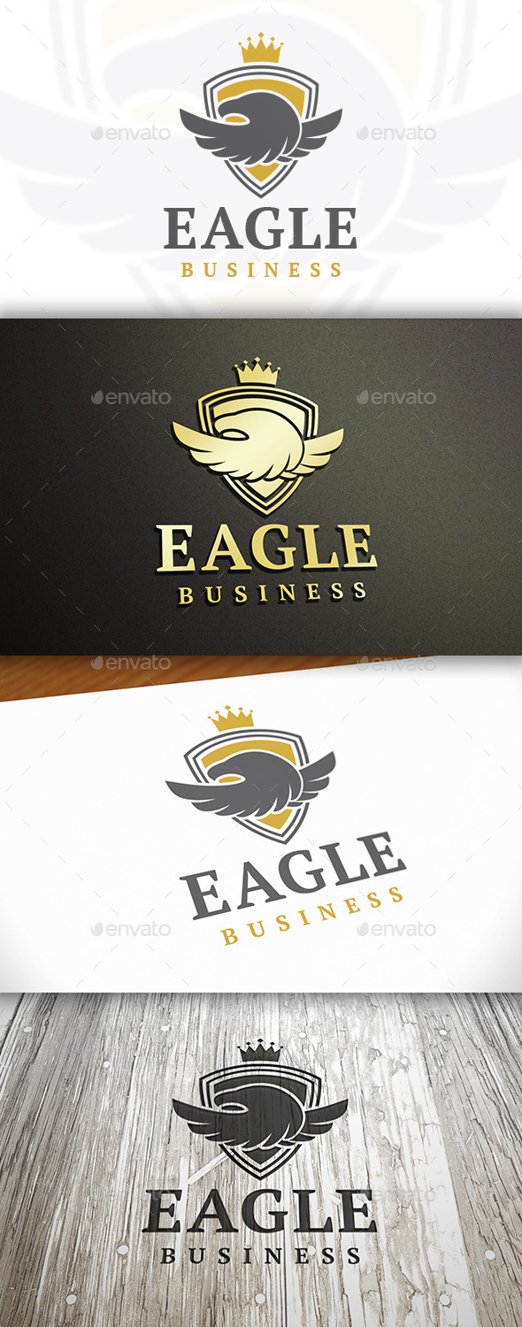 GraphicRiver Royal Eagle Logo 9846712