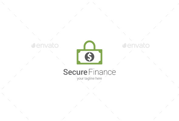 GraphicRiver Secure Finance Logo 9846957