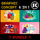 Flat Concept Bundle - GraphicRiver Item for Sale