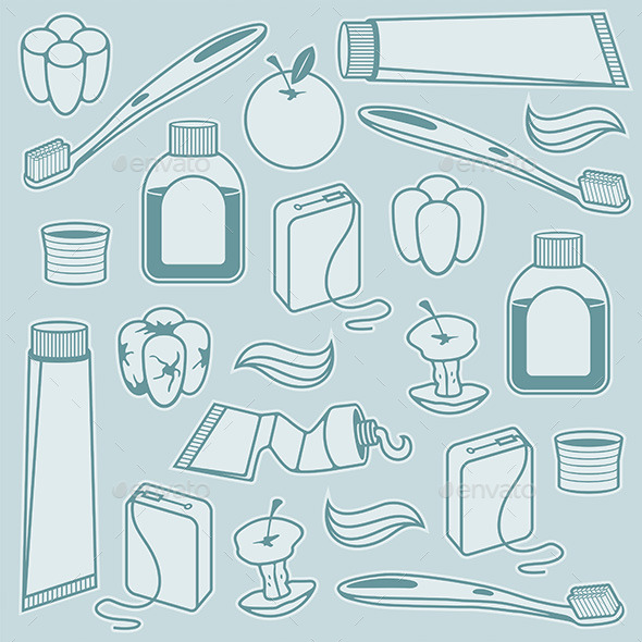 GraphicRiver Dental Pattern 9847050