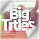 Big Titles Slideshow Typography - VideoHive Item for Sale