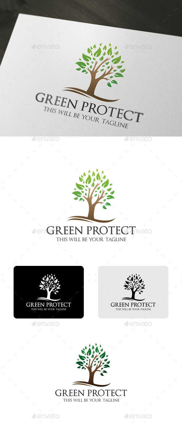 GraphicRiver Green Protect 9847091
