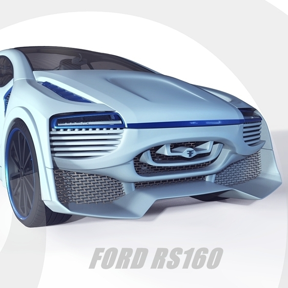 3DOcean Ford RS160 concept 9847118