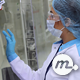 Woman Controls Machine at Modern Drug Factory - VideoHive Item for Sale