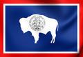 Flag of Wyoming, USA. - PhotoDune Item for Sale