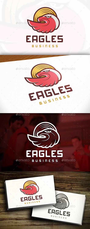 GraphicRiver Eagles Logo 9847277