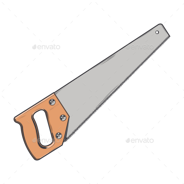 GraphicRiver Handsaw 9847281