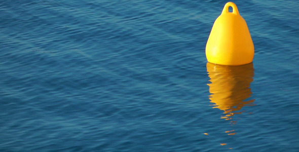 The Sea Water and Buoy