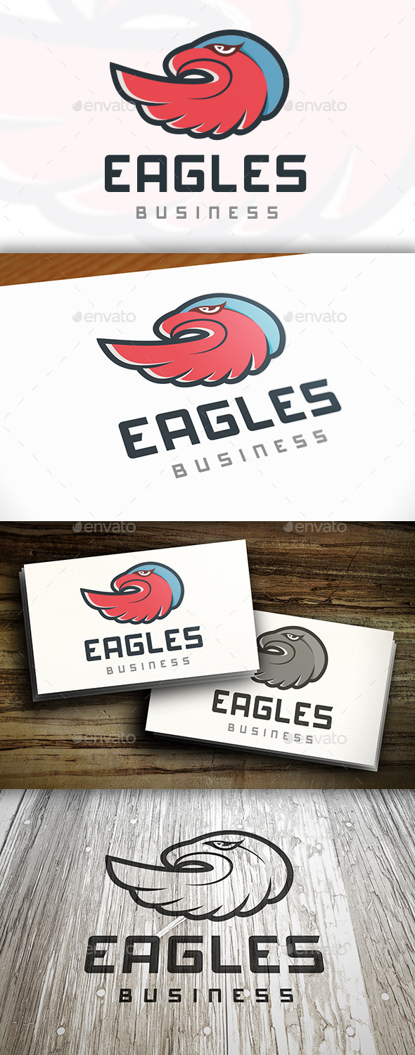 GraphicRiver Eagle Team Logo 9847465