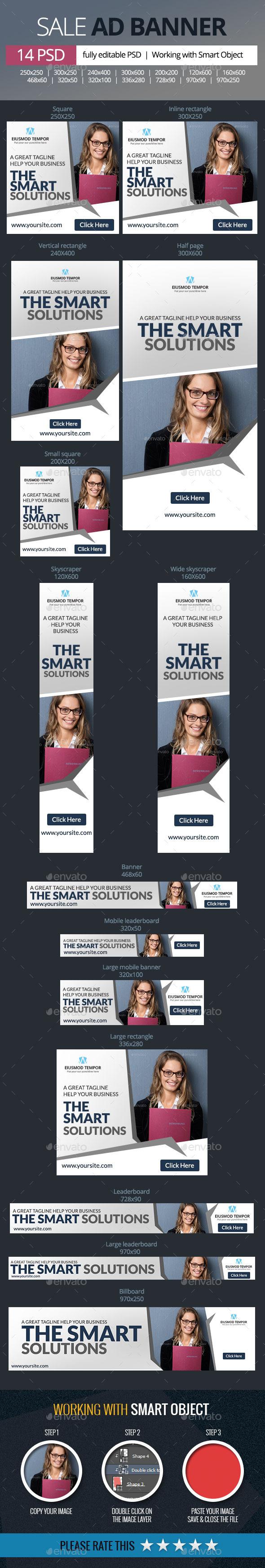 GraphicRiver Multipurpose Banners 9847839