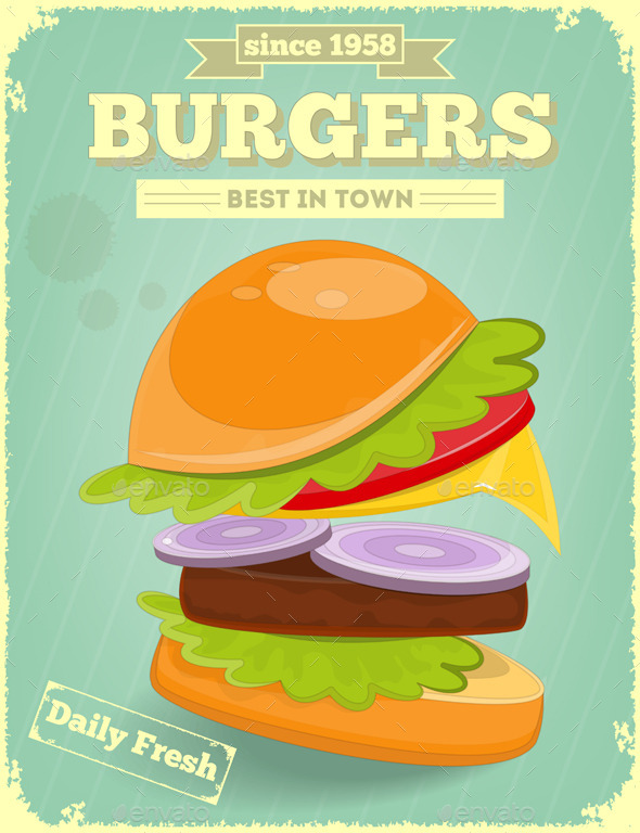GraphicRiver Fast Food Poster 9847940