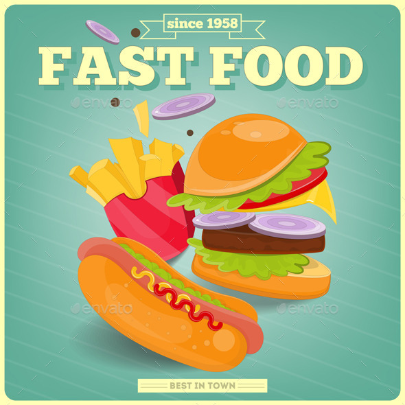 GraphicRiver Fast Food 9847953
