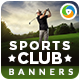 Golf Club Banners - GraphicRiver Item for Sale