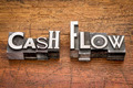 cash flow in metal type - PhotoDune Item for Sale