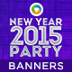 New Year Party  Banners - GraphicRiver Item for Sale