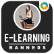 E-Learning Banners - GraphicRiver Item for Sale