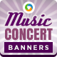Concert & Event Banners - GraphicRiver Item for Sale