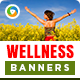 Health & Wellness Banners - GraphicRiver Item for Sale