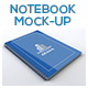 Notebook Mock-Up For A4/A5 - GraphicRiver Item for Sale