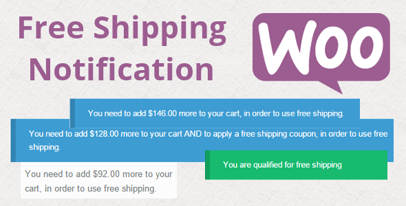CodeCanyon WooCommerce Free Shipping Notification 9802986