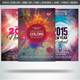 Colorful New Year Flyers Bundle Vol 1 - GraphicRiver Item for Sale