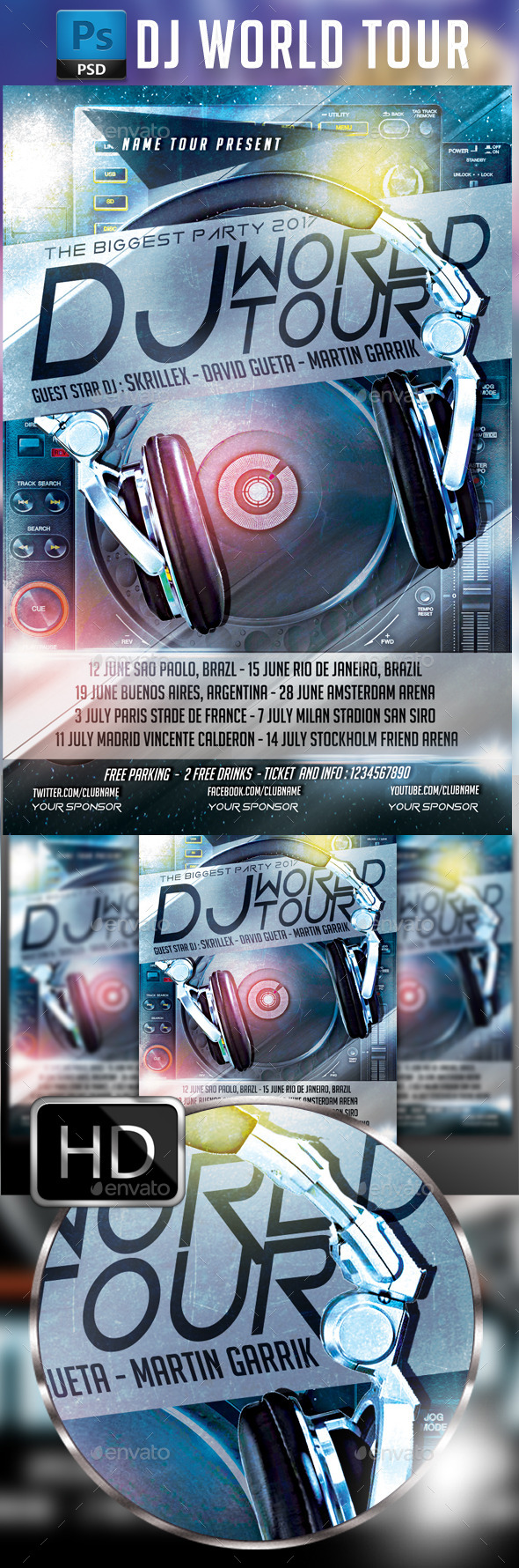 GraphicRiver DJ World Tour 9849057