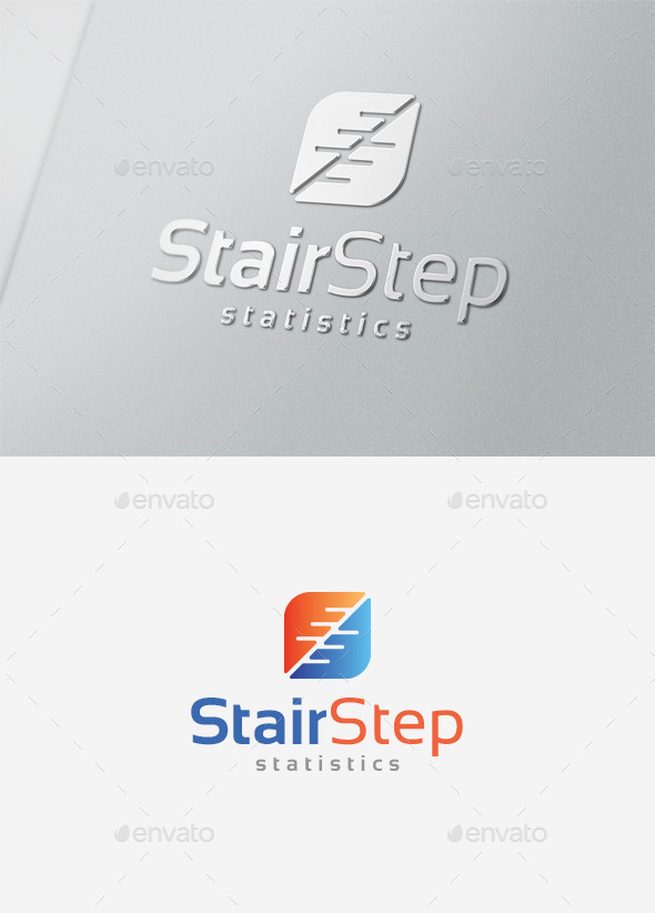 GraphicRiver Stair Step Logo 9829657