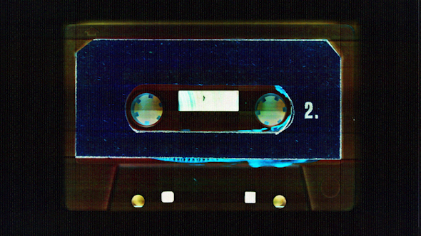 Cassette Tape Vintage Music