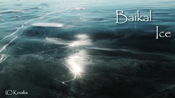 Baikal Ice Surface