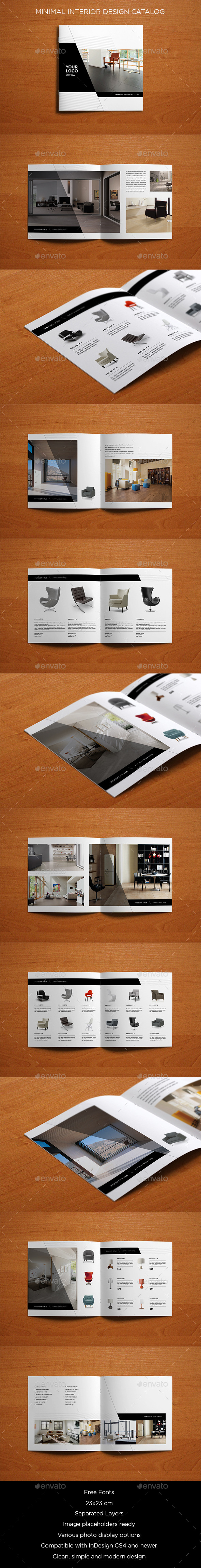 Minimal Interior Design Catalog