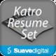 Katro Resume Set v1 - GraphicRiver Item for Sale