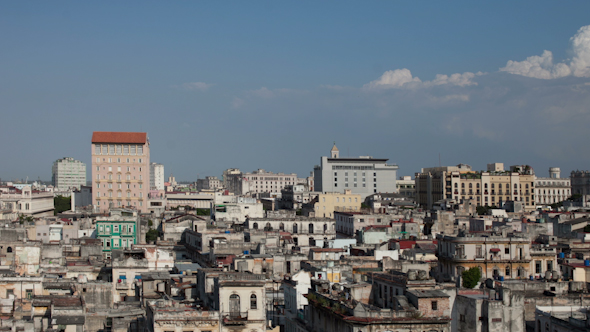 Havana Skyline Cuba