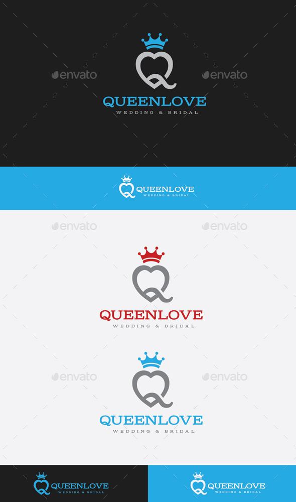 GraphicRiver Queen Love 9849682