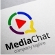 Media Chat Logo - GraphicRiver Item for Sale